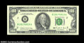 Error Notes:Blank Reverse (<100%), Fr. 2172-B $100 1988 Federal Reserve Note. Choice About ...