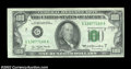 Error Notes:Skewed Reverse Printing, Fr. 2168-G $100 1977 Federal Reserve Note. About ...