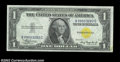 Error Notes:Obstruction Errors, Fr. 2306 $1 1935A North Africa Silver Certificate. Gem Crisp ...