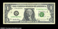 Error Notes:Major Errors, Fr. 1922-K $1 1995 Federal Reserve Note. Fine-Very Fine. ...