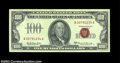 Small Size:Legal Tender Notes, Fr. 1551 $100 1966A Legal Tender. Extremely Fine-About ...