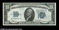 Small Size:Silver Certificates, Fr. 1701 $10 1934 Silver Certificate. Choice Crisp ...