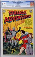 Golden Age (1938-1955):Science Fiction, Strange Adventures #13 White Mountain pedigree (DC, 1951) CGC NM-9.2 White pages....
