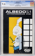 Modern Age (1980-Present):Miscellaneous, Albedo #2 (Thoughts and Images, 1984) CGC NM+ 9.6 White pages....