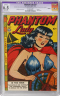 Golden Age (1938-1955):Crime, Phantom Lady #14 (Fox Features Syndicate, 1947) CGC Apparent FN+ 6.5 Off-white pages Moderate (A)....