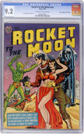 "Golden Age (1938-1955):Science Fiction, Rocket to the Moon #nn Davis Crippen (""D"" Copy) pedigree (Avon,1951) CGC NM- 9.2 Off-white to white pages...."