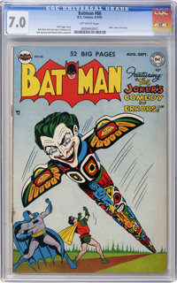 Batman #66 (DC, 1951) CGC FN/VF 7.0 Off-white pages
