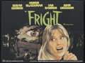 "Movie Posters:Horror, Fright (British Lion, 1971). British Quad (30"" X 40""). Thriller. Starring Susan George, Honor Blackman, Ian Bannen and John ..."