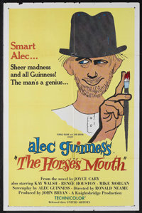 """The Horse's Mouth (United Artists, 1959). One Sheet (27"""" X 41""""). Comedy. Starring Alec Guinness, Kay Walsh, Re..."""