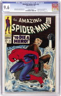 Silver Age (1956-1969):Superhero, The Amazing Spider-Man #52 (Marvel, 1967) CGC NM+ 9.6 Off-white to white pages....