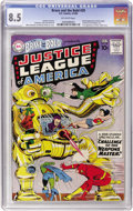 Silver Age (1956-1969):Superhero, The Brave and the Bold #29 Justice League of America (DC, 1960) CGC VF+ 8.5 Off-white pages....