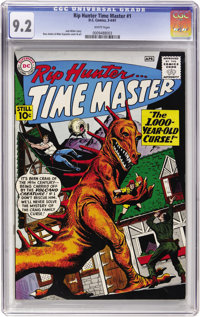 Rip Hunter Time Master #1 (DC, 1961) CGC NM- 9.2 White pages