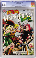 Silver Age (1956-1969):Adventure, The Brave and the Bold #23 Viking Prince (DC, 1959) CGC VF+ 8.5 Cream to off-white pages....