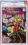 Silver Age (1956-1969):Adventure, The Brave and the Bold #33 Cave Carson (DC, 1961) CGC VF/NM 9.0 Off-white pages....