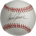 Autographs:Baseballs, Tom Seaver Single Signed Baseball. The ace of the 1969 Miracle Metsperforms yet another amazing feat with the stunning 10/...