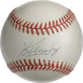 Autographs:Baseballs, Ken Griffey, Jr. Single Signed Baseball . Just about one of theonly players who had any kind of real impact at the major l...