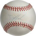 Autographs:Baseballs, Dwight Gooden Single Signed Baseball. At the height of his dominantstretch during the 1980s with the New York Mets, Dwight...