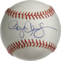Autographs:Baseballs, Roger Clemens Single Signed Baseball. Future Hall of Fame ace Roger Clemens provides this OAL (Brown) orb with a spectacula...
