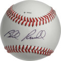 Autographs:Baseballs, Bill Russell Single Signed Baseball. The holder of 11 NBA rings,the dominant post player Bill Russell has made the offered...