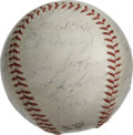 Autographs:Baseballs, 1967 New York Mets Team Signed Baseball. From Hall of Fame ace TomSeaver's rookie season with the New York Mets we offer t...