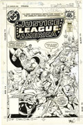 Original Comic Art:Covers, Jose Luis Garcia-Lopez - Justice League of America #165 CoverOriginal Art (DC, 1979). ...
