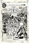"Original Comic Art:Covers, George Perez - Adventure Comics #485 Dial ""H"" For Hero CoverOriginal Art (DC, 1981). ..."