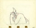 "Animation Art:Production Drawing, ""Fantasia"" Pencil Animation Drawing Original Art (Walt Disney,1940)...."