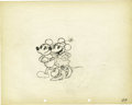 "Animation Art:Production Drawing, Mickey Mouse ""The Pet Store"" Animation Production Drawing OriginalArt (Disney, 1933)...."