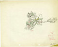 "Animation Art:Production Drawing, Mickey Mouse, Donald Duck ""Dognappers"" Animation Production DrawingOriginal Art (Disney, 1934). ..."