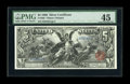 Large Size:Silver Certificates, Fr. 268 $5 1896 Silver Certificate PMG Choice Extremely Fine 45. Avery handsome $5 Educational with the margins, color, and...