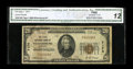 National Bank Notes:Kentucky, Williamsburg, KY - $20 1929 Ty. 1 The First NB Ch. # 7174. Onlyfive small notes are recorded for this Whitley County in...