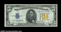 Small Size:World War II Emergency Notes, Fr. 2307 $5 1934A North Africa Silver Certificate. Gem Crisp ...