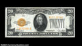Small Size:Gold Certificates, Fr. 2402 $20 1928 Gold Certificate. Choice Extremely Fine....