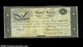 Large Size:Demand Notes, Ten Dollar 1815 Interest Bearing Treasury Note Very Fine. ...