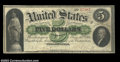 Large Size:Demand Notes, 1861 $5 Demand Note, Fr-2, VF. When CAA last sold this note in ...
