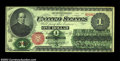 Fr. 16 $1 1862 Legal Tender About New. A little handled and with two small corner folds, but well margined, bright, attr...
