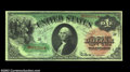 Fr. 18 $1 1869 Legal Tender Choice Extremely Fine. This strictly original Rainbow Ace has all its bright, flashy colors...