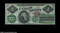 Large Size:Legal Tender Notes, Fr. 41 $2 1862 Legal Tender CGA Gem Uncirculated 65. The ...