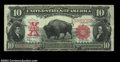 Large Size:Legal Tender Notes, Fr. 122 $10 1901 Legal Tender Choice Very Fine. In spite ...