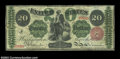 Large Size:Legal Tender Notes, Fr. 126b 1863 $20 Legal Tender Very Fine. Closely margined ...