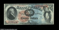 Large Size:Legal Tender Notes, Fr. 127 $20 1869 Legal Tender Choice New. The colors of ...