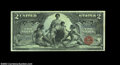 Large Size:Silver Certificates, Fr. 248 $2 1896 Silver Certificate Gem New. A lovely ...