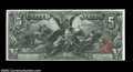 Large Size:Silver Certificates, Fr. 268 $5 1896 Silver Certificate Superb Gem New. A ...