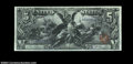 Large Size:Silver Certificates, Fr. 268 $5 1896 Silver Certificate CGA Gem Uncirculated 66....