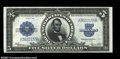 Large Size:Silver Certificates, Fr. 282 $5 1923 Silver Certificate Superb Gem New. This ...