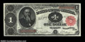 Large Size:Treasury Notes, Fr. 351 $1 1891 Treasury Note Superb Gem New. An ...