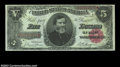 Large Size:Treasury Notes, Fr. 363 $5 1891 Treasury Note Gem New. A beautiful General ...