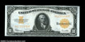Large Size:Gold Certificates, Fr. 1173 $10 1922 Gold Certificate Gem New. Super margins ...