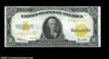 Large Size:Gold Certificates, Fr. 1173 $10 1922 Gold Certificate About New. A nice ...