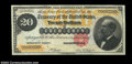 Large Size:Gold Certificates, Fr. 1178 $20 1882 Gold Certificate CGASuperb Gem New 67. ...